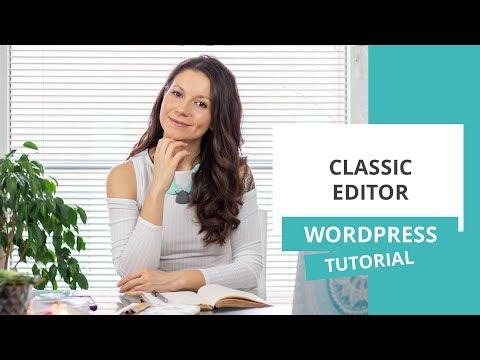 Classic Editor – WordPress nasvet