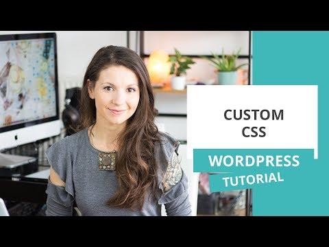Dodajanje custom CSS – WordPress nasvet