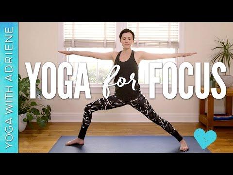 Yoga For Focus & Productivity - 10 min practice