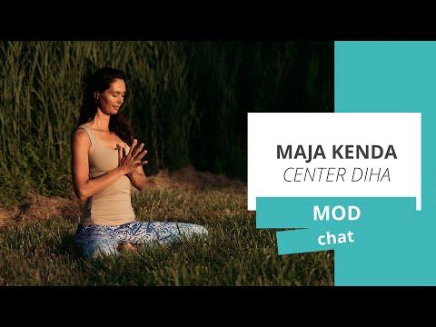 MOD chat: Maja Kenda, Center Diha