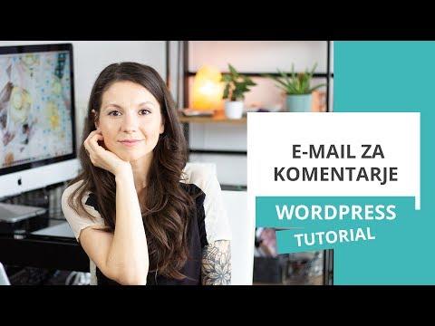 Izklop e-mail obvestil za komentarje – WordPress nasvet