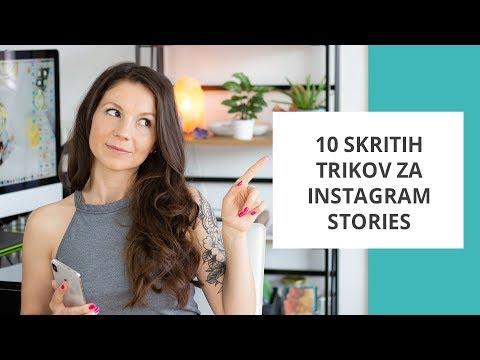 10 skritih trikov za Instagram Stories