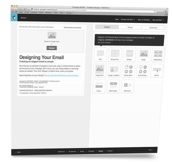 Po potrebi (in znanju) oblikuješ izgled e-mailov.