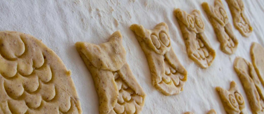 Kako oblikovati piškote v obliki sov - MOD