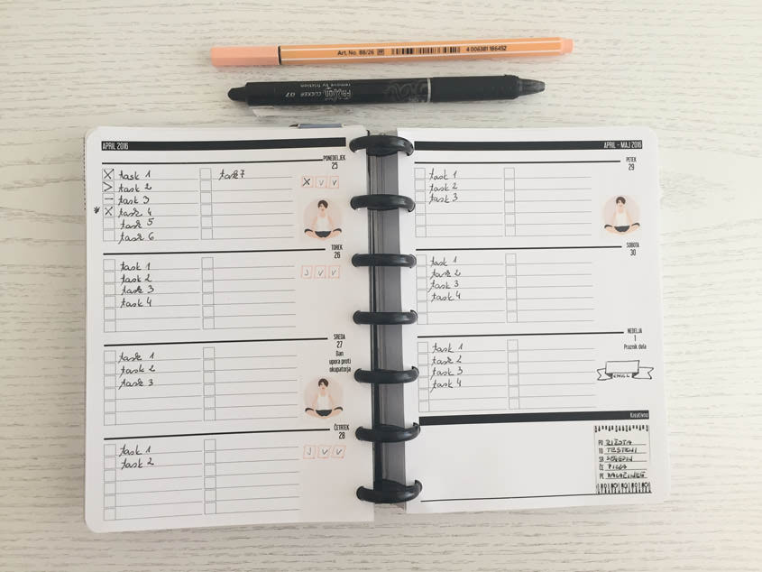 How To Use Simple Bullet Journal System In The Planner
