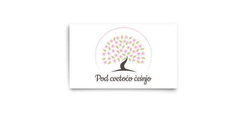 Logotip Pod cvetočo češnjo