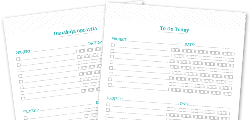 Free Pomodoro Printable To Do List
