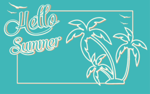Summer Background Freebie
