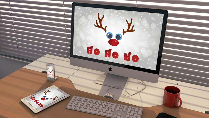 Adorable Christmas Pack For Your Devices