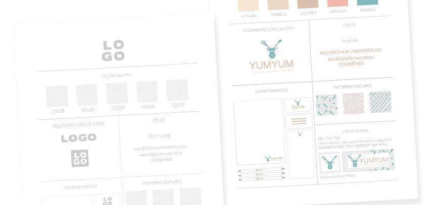 3 enostavni načini, kako narediti spletno stran / blog bolj kohezivno + brezplačna predloga