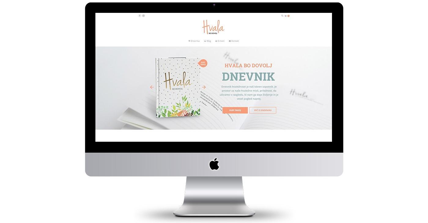 New website: Hvala bo dovolj (Thank you is enough)