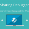 Sharing Debugger  – WordPress nasvet