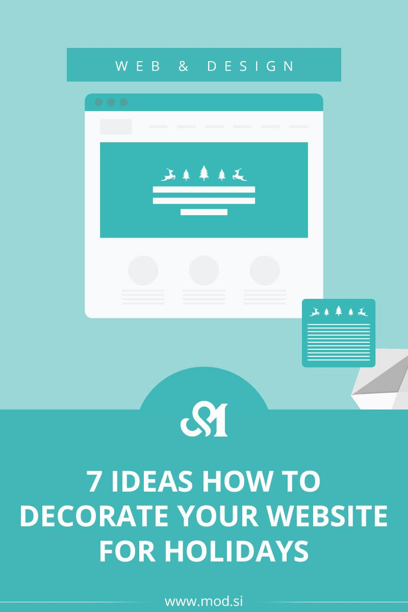 7 Ideas how to Decorate Your Website for Holidays