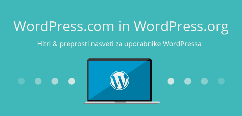 WordPress.com in WordPress.org - WordPress nasvet
