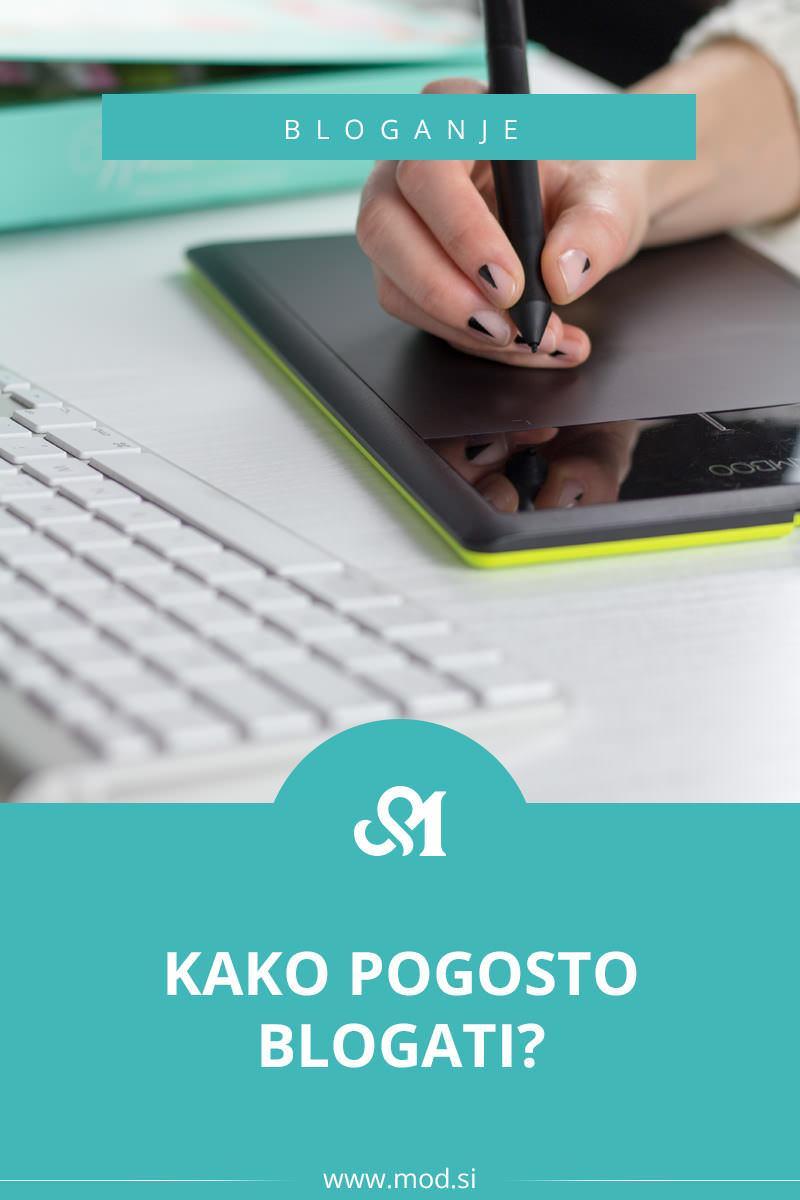 Kako pogosto blogati?