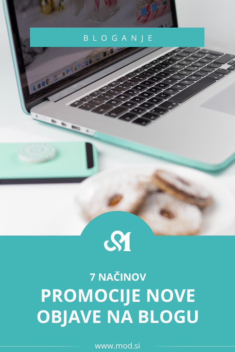 7 načinov promocije nove objave na blogu
