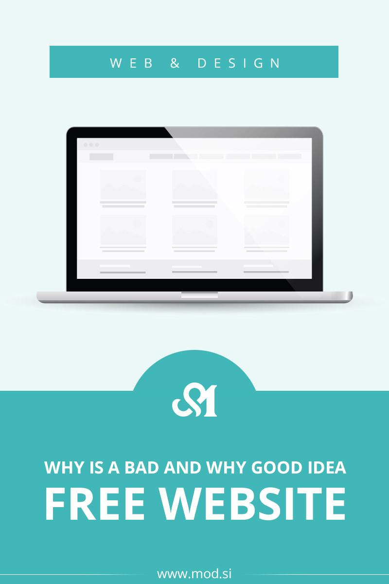 Why Free Website Is A Bad and Why Good Idea