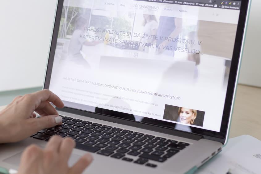 Nova grafična podoba in spletna stran za Organizirano - preprosto urejeno