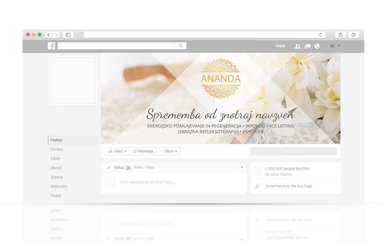 Nova grafična podoba in spletna stran za ANANDA
