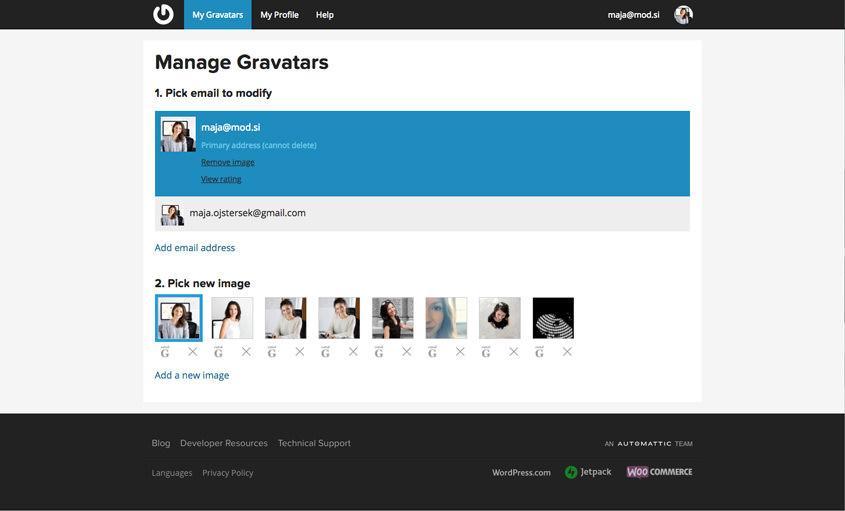 Profilna slika – WordPress nasvet