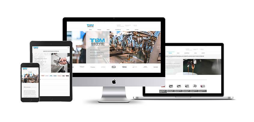 Nova spletna stran TOM SERVIS