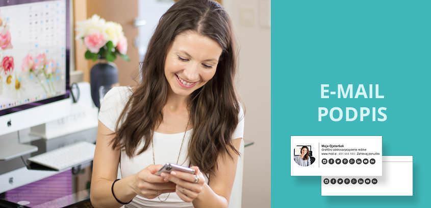 E-mail podpis: brezplačna predloga in video vodič