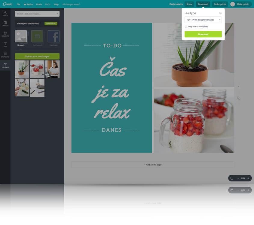 Kako narediti kolaž s pomočjo brezplačnega grafičnega urejevalnika - Canva