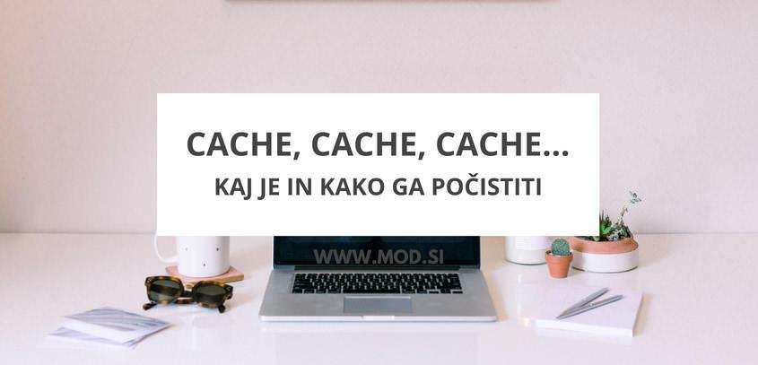 Cache, Cache, Cache...