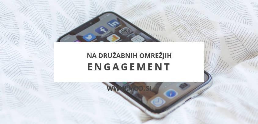 Engagement na družabnih omrežjih