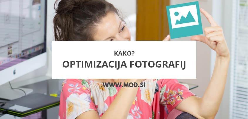 Kako optimizirati fotografije za spletno stran