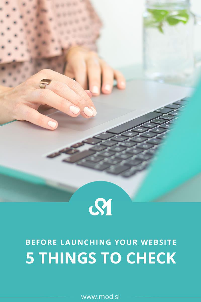 5 Things To Check Before Launching Your Website