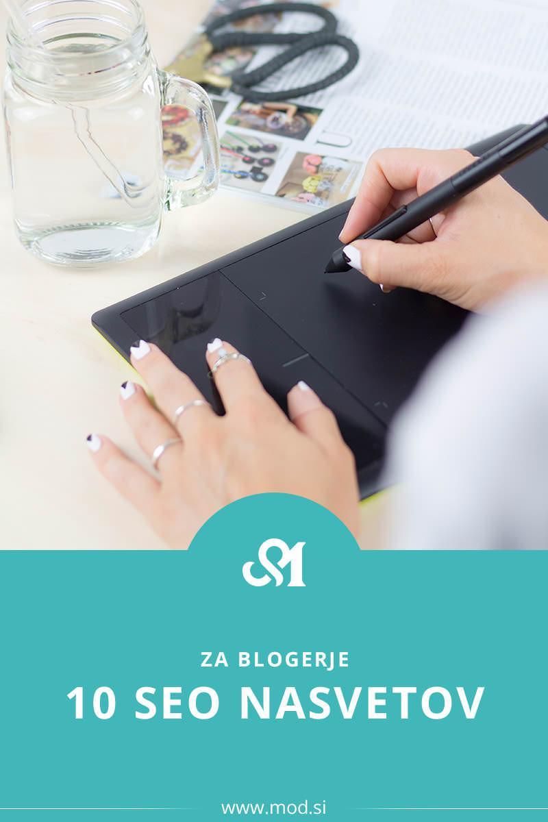 10 SEO nasvetov za blogerje