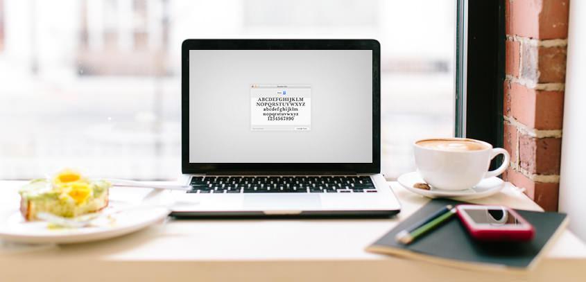 Kako namestiti nov font + viri, kje jih najdeš