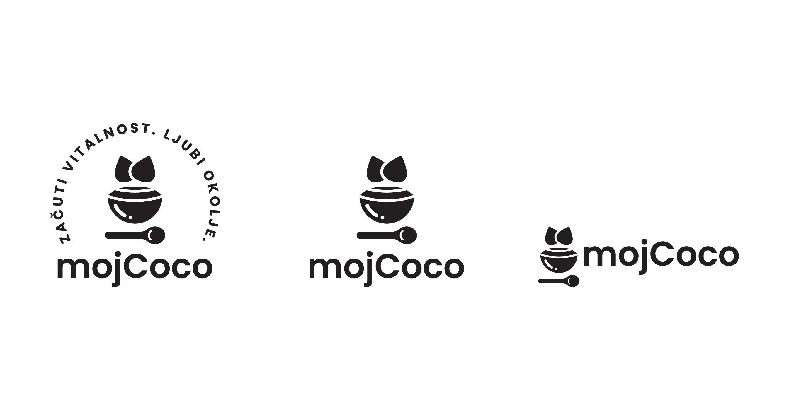 MojCoco - oblikovanje logotipa za MojCoco.