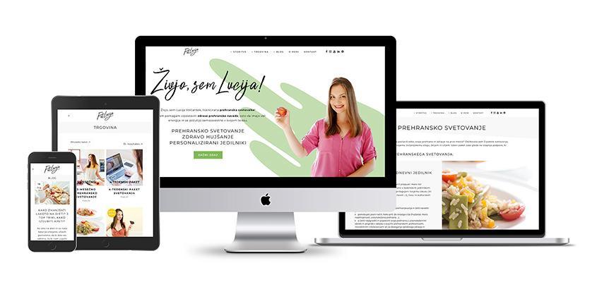 New Website FitLucija