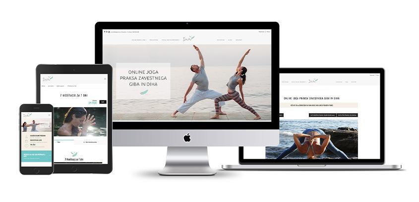 Nova spletna stran Online Dih center