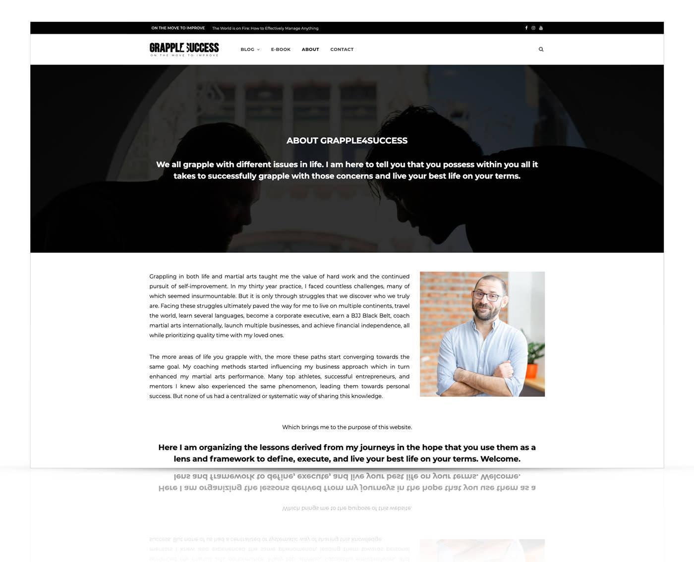 Nova spletna stran Grapple 4 Success