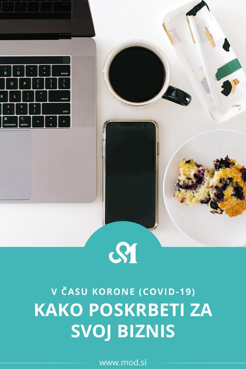 Kako poskrbeti za svoj biznis v času korone (covid-19)