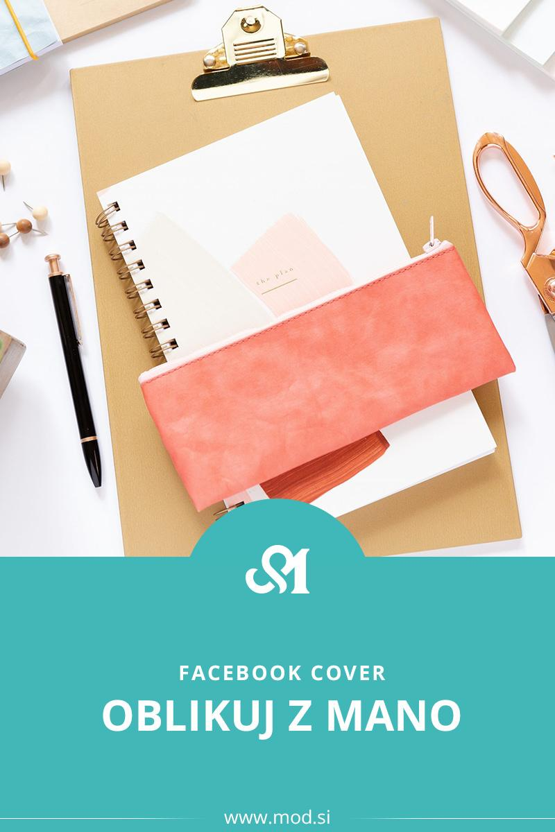 Oblikuj z mano - Facebook Cover