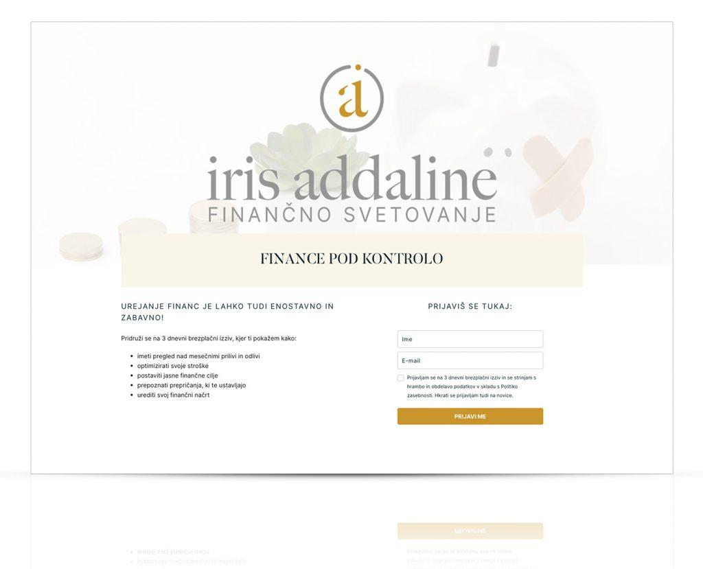 Iris Addaline
