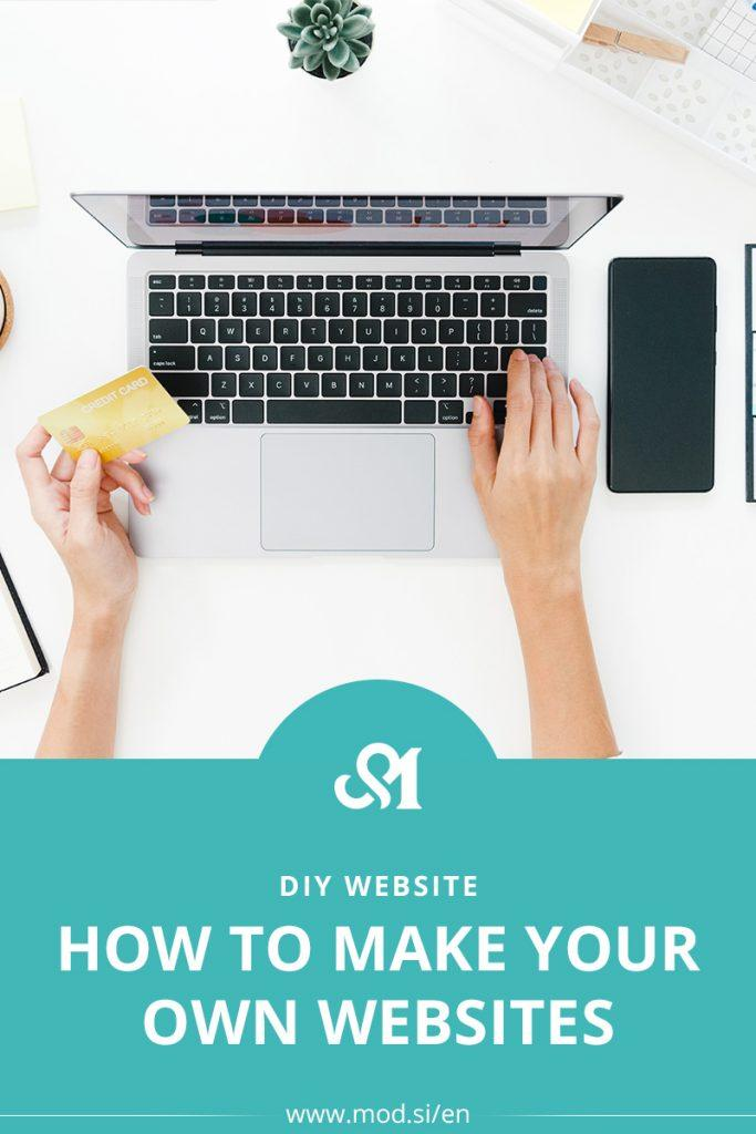 How to Make Your Own Websites (DIY website)